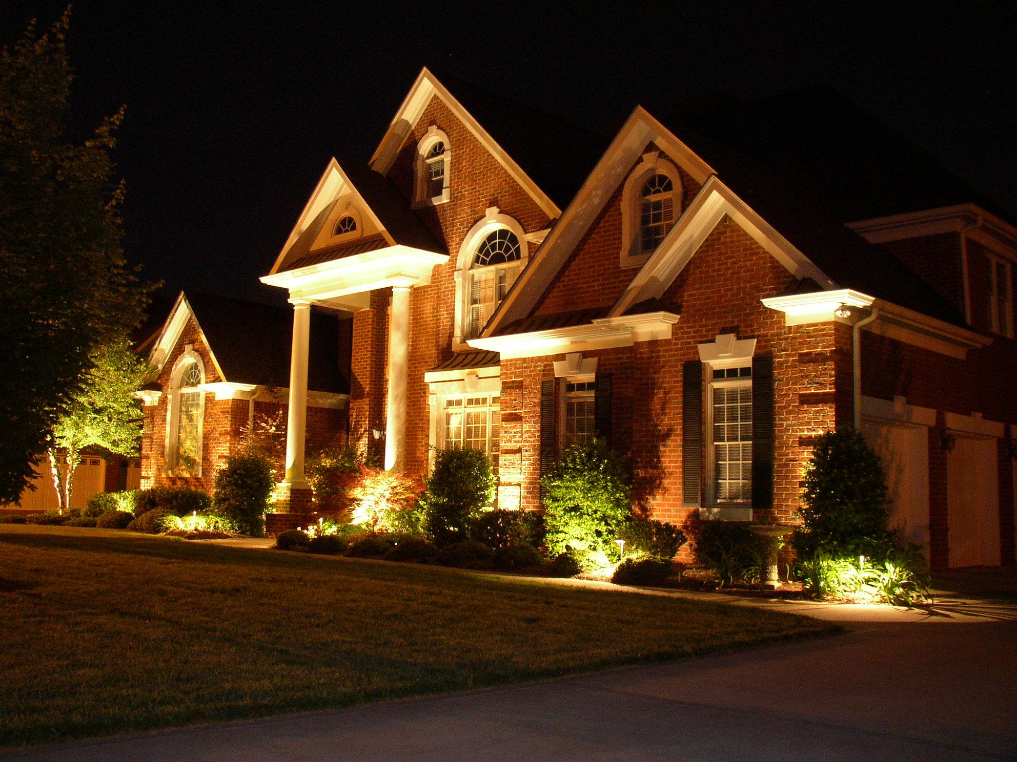 Gallery | Outdoor Lighting Springfield / Landscape Lighting San ...